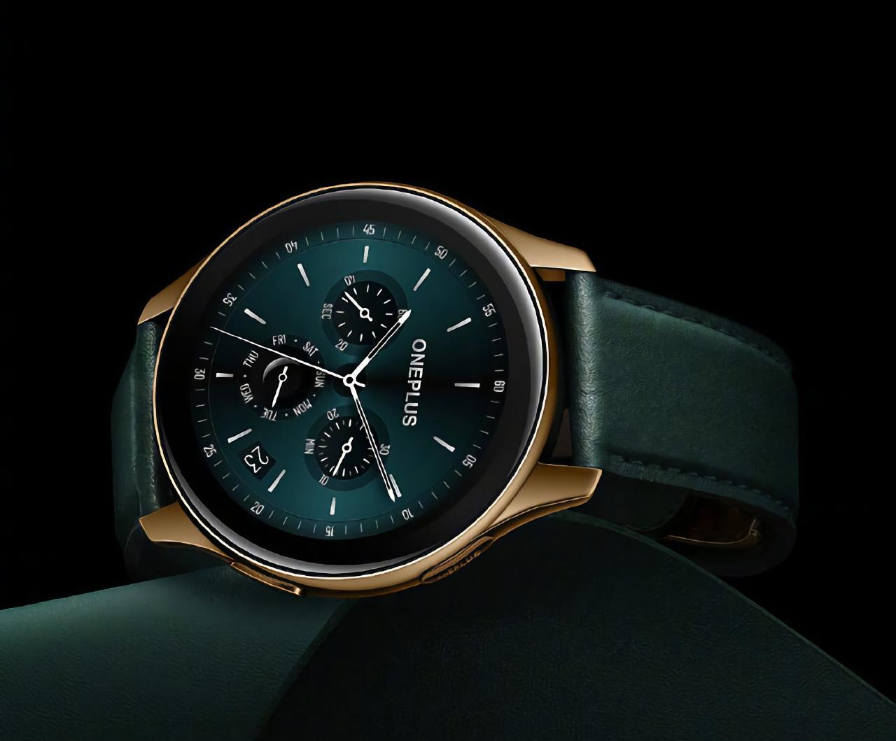 OnePlus Watch Cobalt Edition: премиальная версия OnePlus Watch с сапфировым стеклом и рамкой из кобальтового сплава за $250