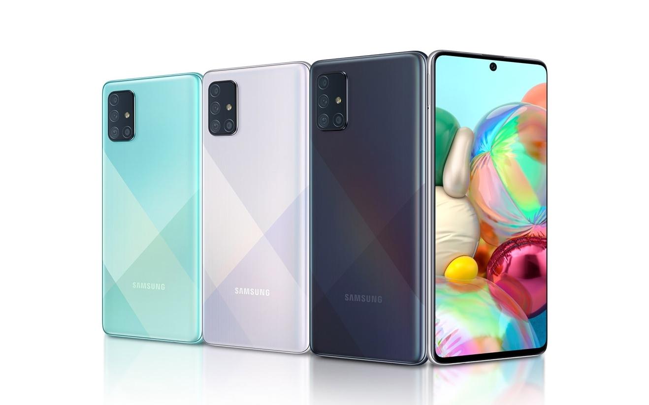 Samsung Galaxy A71 4G начал обновляться до Android 11 (One UI 3.1)
