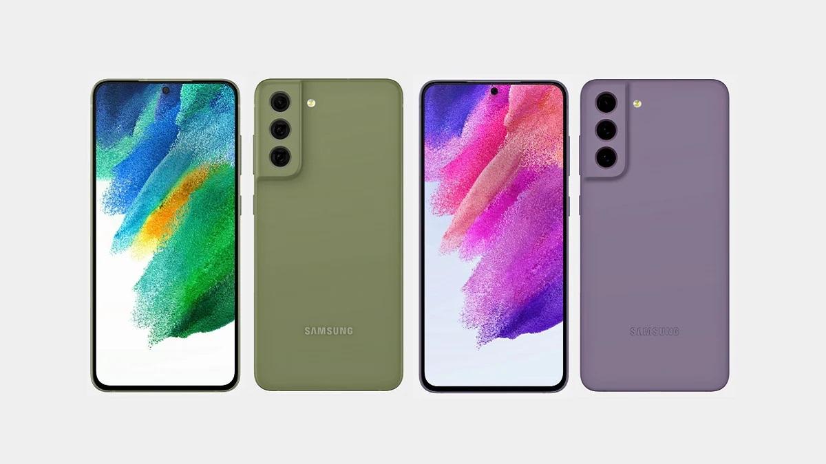 Смартфон Samsung Galaxy S21 FE показали на рендерах в четырех расцветках