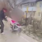 Поведение пьяной женщины с коляской возмутило ставропольчан