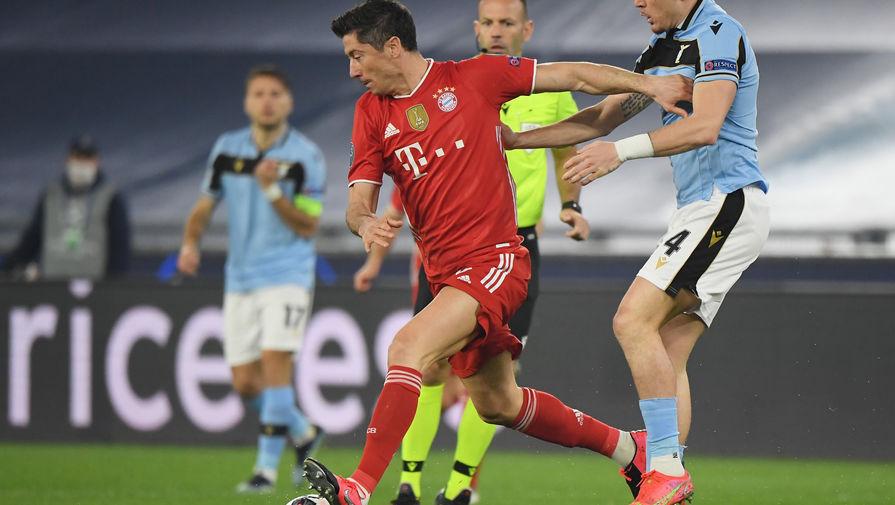 'Бавария' разгромила 'Лацио' в первом матче 1/8 финала Лиги чемпионов