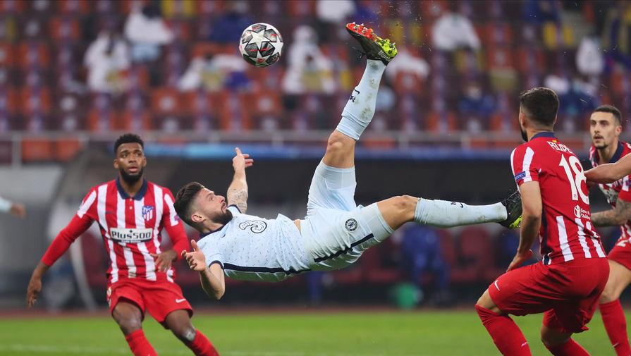 'Атлетико' не смог ни разу ударить в створ ворот 'Челси'