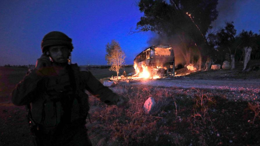 Израильский город Ашкелон подвергся ракетному обстрелу