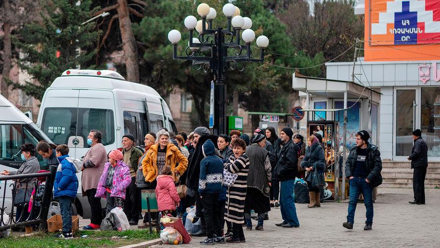Больше 1,1 тысячи беженцев вернулись в Степанакерт за сутки