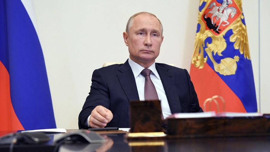 Путин назвал потери РФ от пандемии коронавируса минимальными
