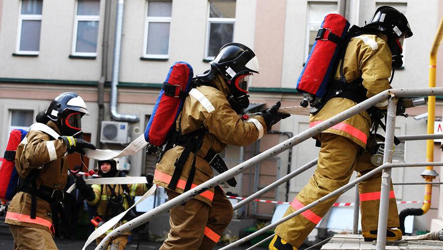 На юго-востоке Москвы из пожара спасли пять человек