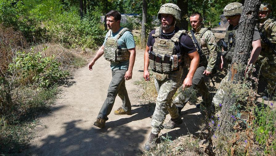 Козак прокомментировал прибытие Зеленского в Донбасс