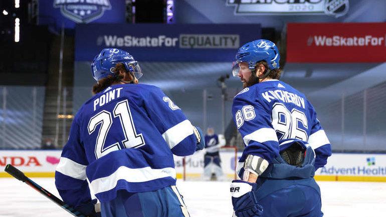 'Айлендерс' обыграл 'Тампу-Бэй' в пятом матче серии плей-офф НХЛ