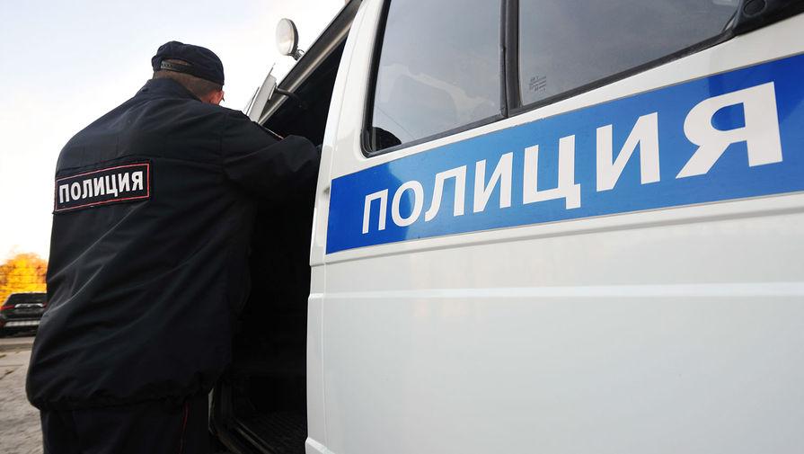 Полицейский автомобиль столкнулся с автобусом в Кемеровской области