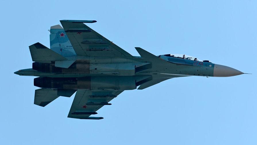 Российский Су-27 сопроводил над Балтийским морем многоцелевой истребитель ВВС Германии