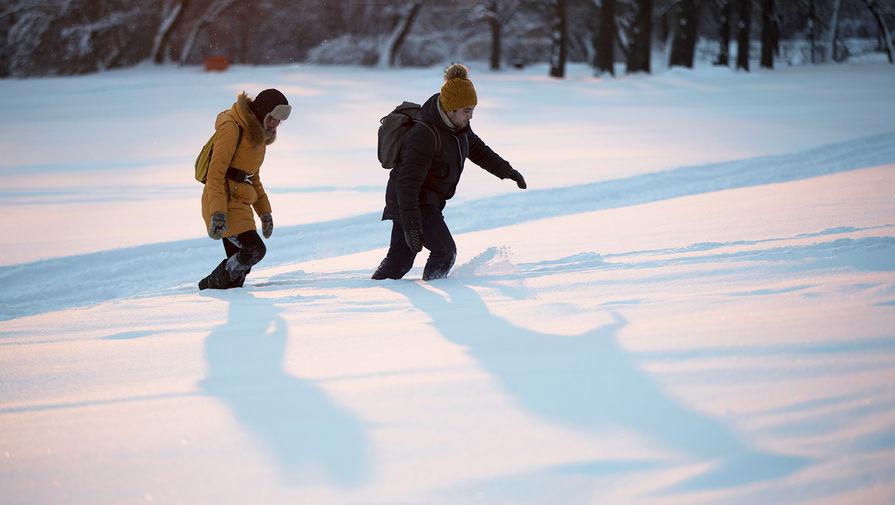 Ночь на вторник стала самой холодной с начала зимы в Москве