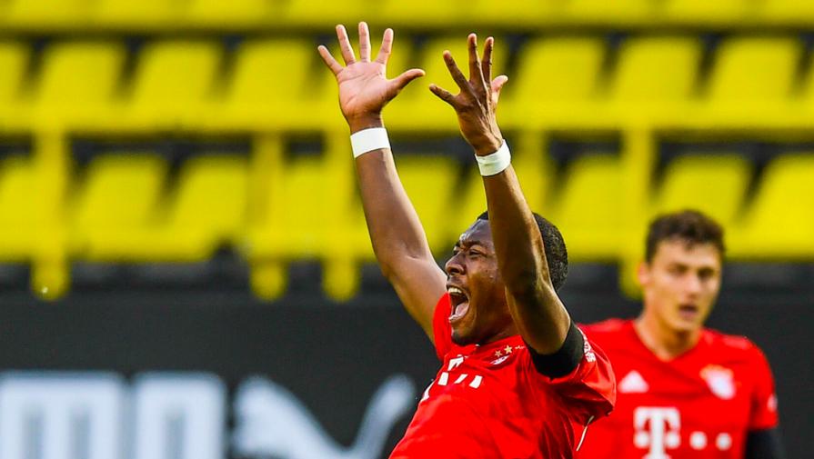 Защитник 'Баварии' Алаба оценил ситуацию с контрактом
