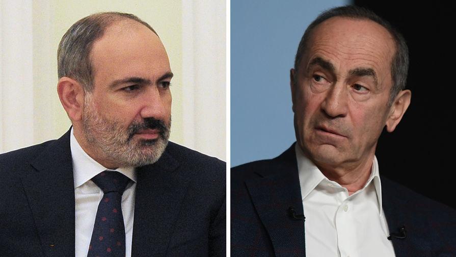 Экс-президент Армении Кочарян подал в суд на Пашиняна