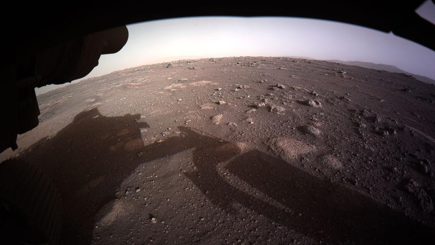 NASA опубликовало видео посадки на Марс