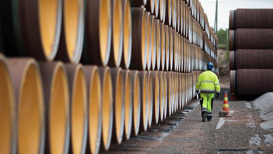 Дания назвала срок возобновления строительства 'Северного потока - 2'