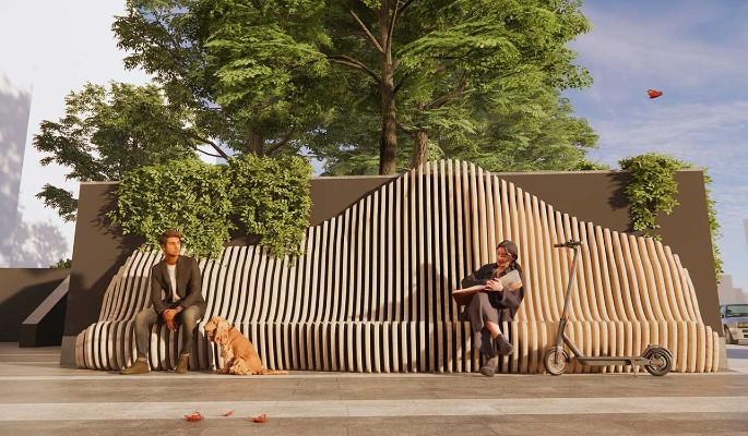 Площади возле станции метро 'Электрозаводская' БКЛ благоустроят