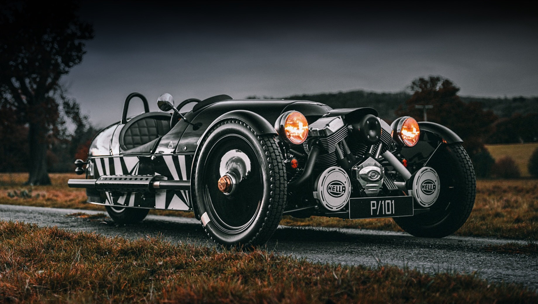 Трицикл Morgan 3 Wheeler уйдёт под гнётом эконорм