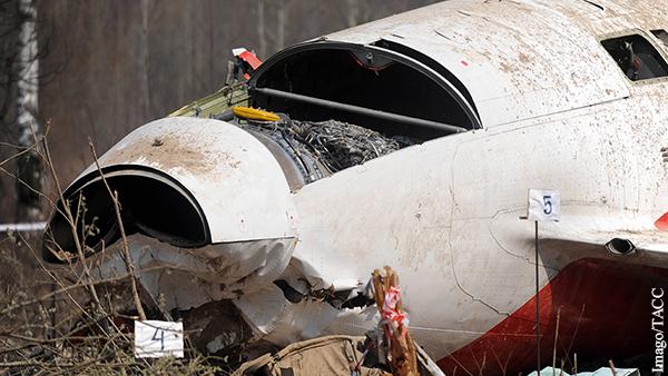 Россия отказалась выдавать Польше диспетчеров по делу о крушении Ту-154