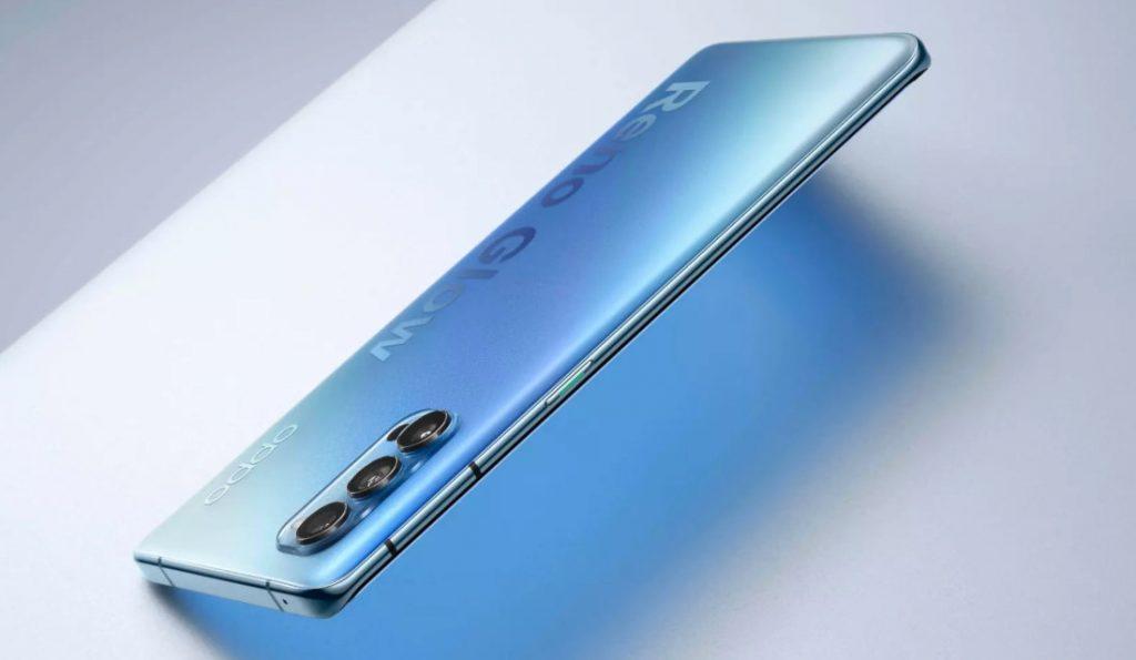 OPPO представила глобальную версию смартфона OPPO Reno4