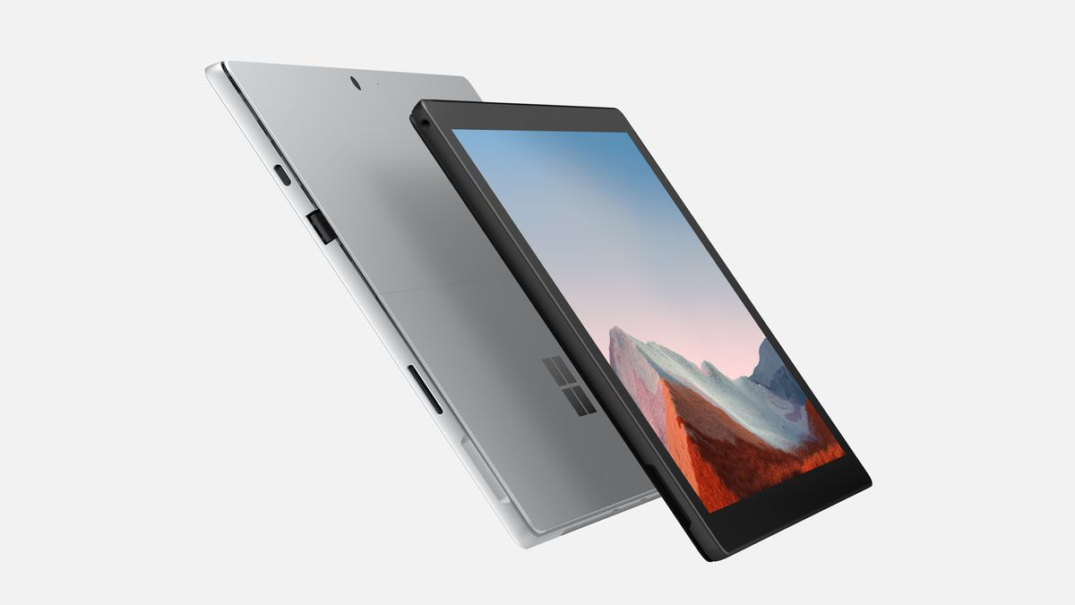Microsoft обновила ноутбук Surface Pro 7 Plus
