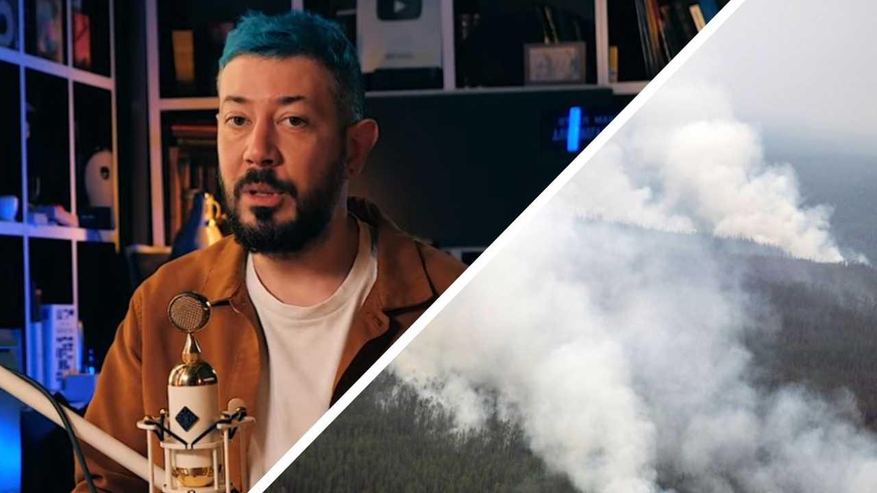 Якутяне раскритиковали Артемия Лебедева после его видео о пожарах в Сибири