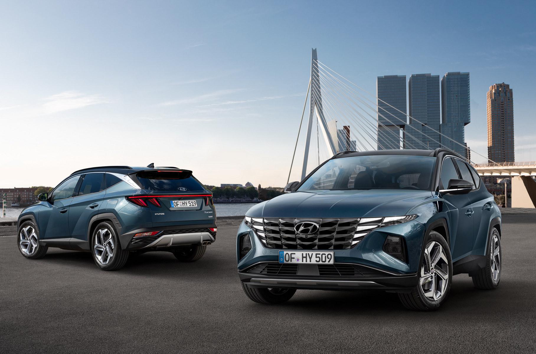 Новый Hyundai Tucson в фактах и фотографиях