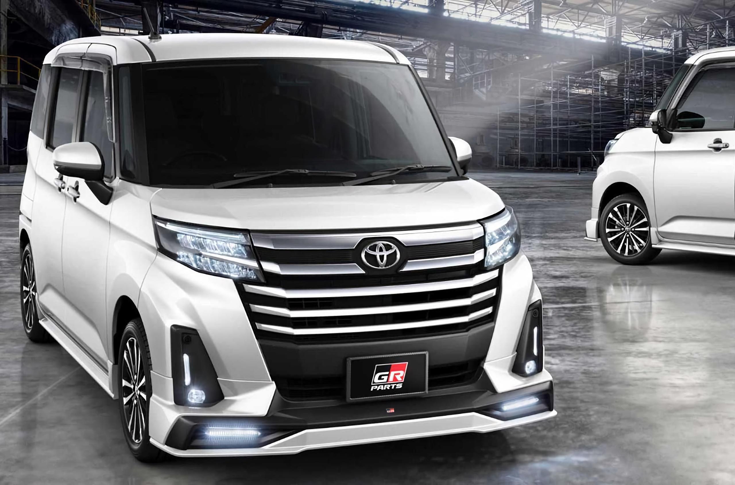 Посмотрите на «гоночный» мини-фургон Toyota с литровым мотором