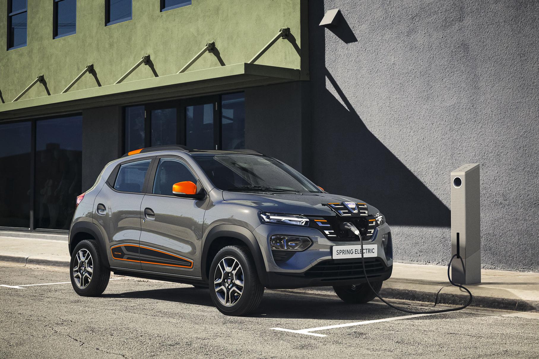 Dacia представила электрокар Spring. Он может стать самым дешёвым в Европе