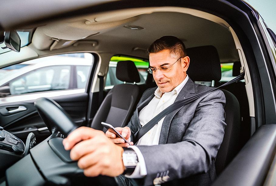 Штраф за использование телефона за рулем предложили увеличить в семь раз