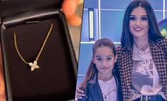 Бородина подарила дочери на 12-летие подвеску за полмиллиона рублей