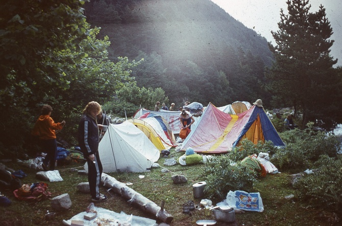 В горах наши сердца. ЧАСТЬ 3. Организация ночевок
