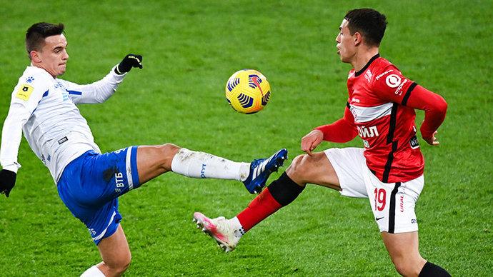 «Спартак» и «Динамо» сыграли вничью в дерби