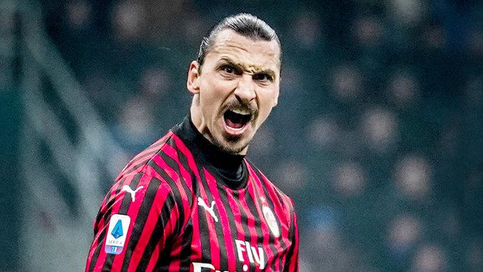 Ибрагимович — первый игрок в истории «Милана», забивший в 8 матчах Серии А подряд