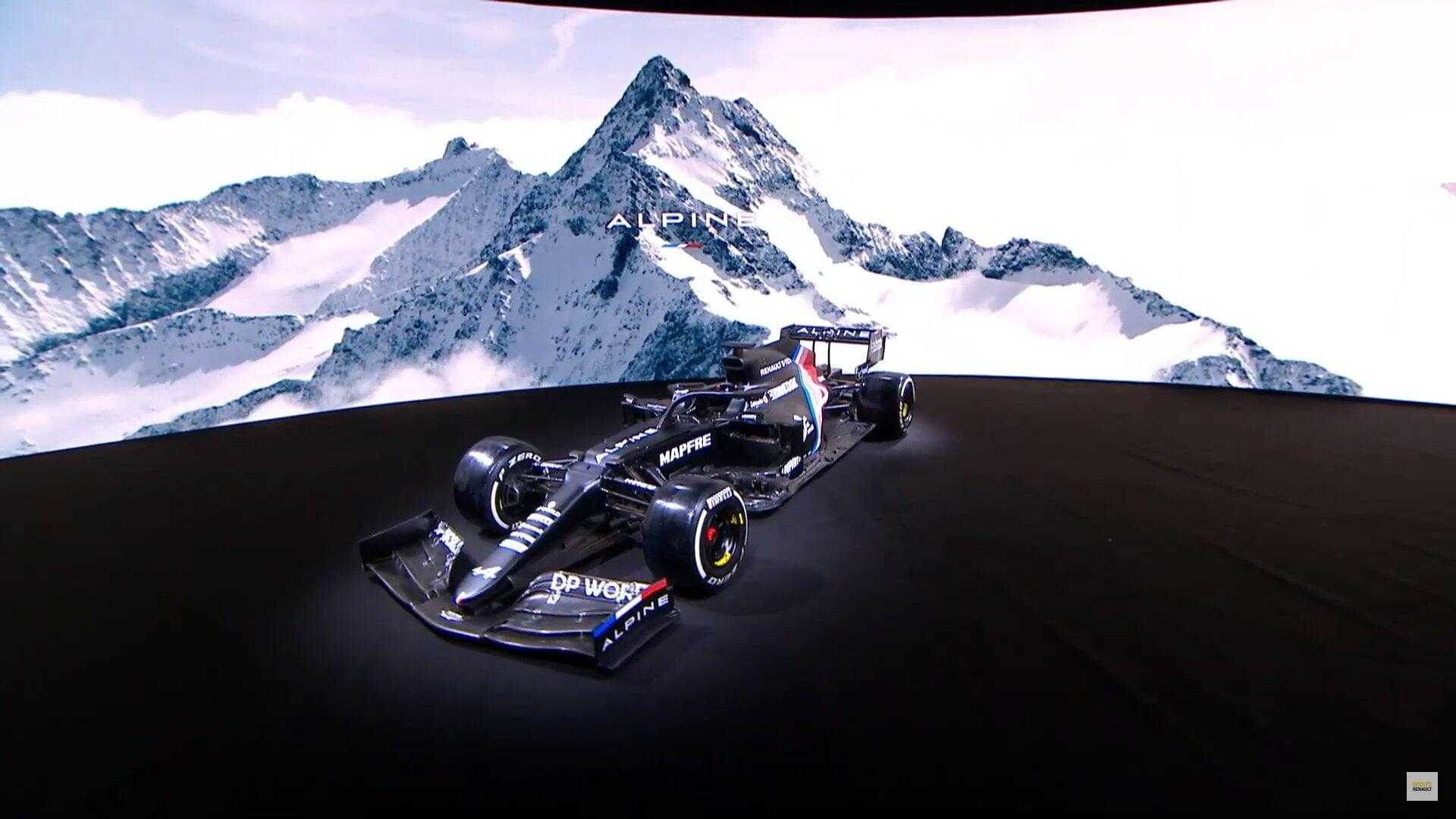 «Альпин» представила первую версию ливреи на сезон-2021