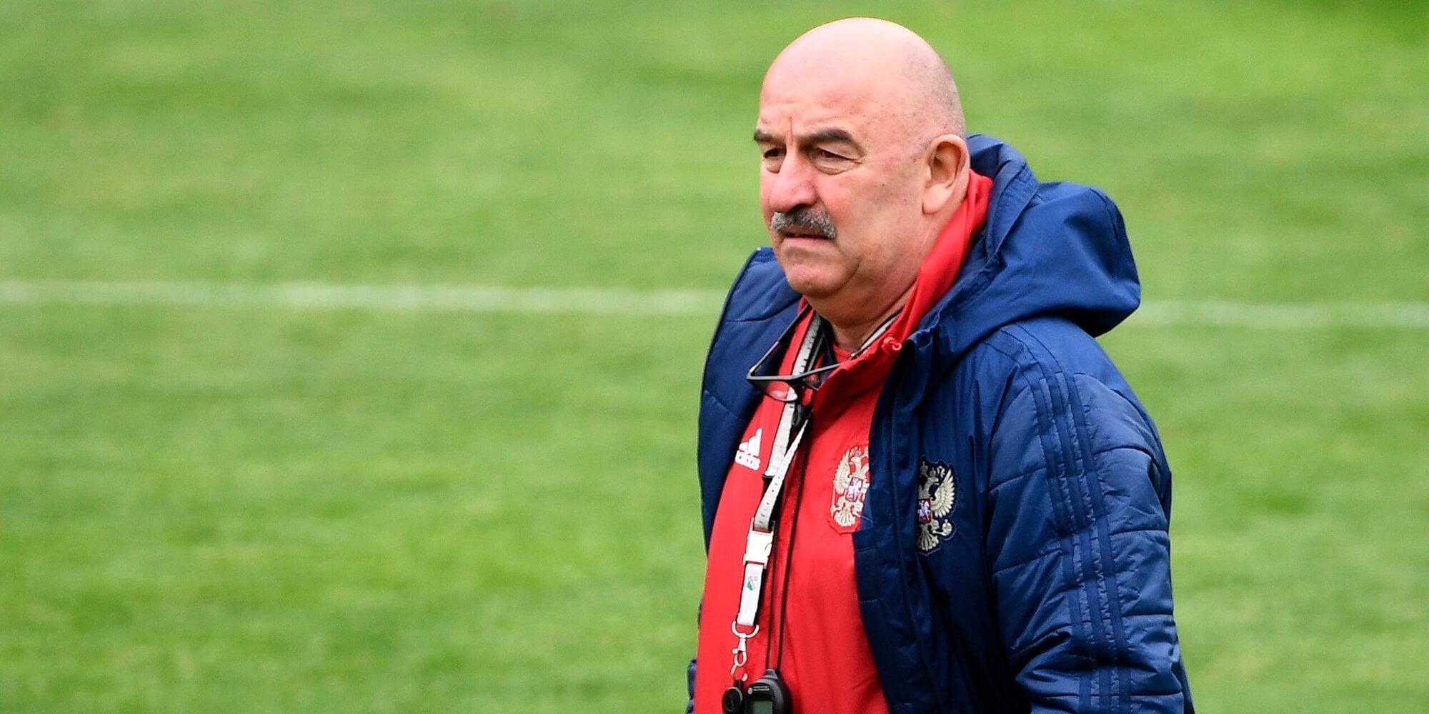 Черчесов о Бельгии: «Работаем, чтобы нивелировать их качества. Все три матча с ними получились зрелищными»