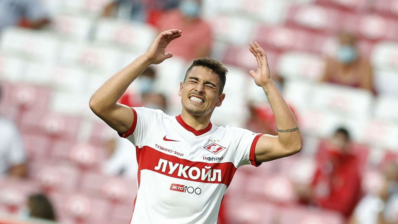 «Спартак» проиграл 5 матчей в еврокубках подряд