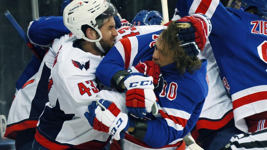 «Как близко НХЛ была к смерти на льду!» Уилсон пытался травмировать Панарина и пересек черту