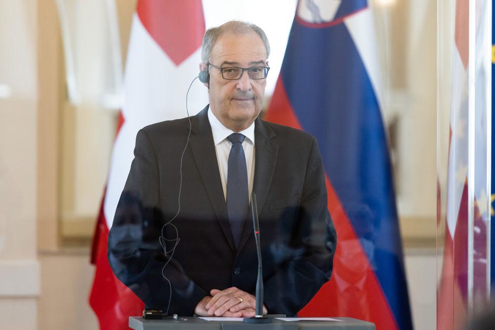 Президент Швейцарии рассчитывает встретиться с Путиным в Женеве