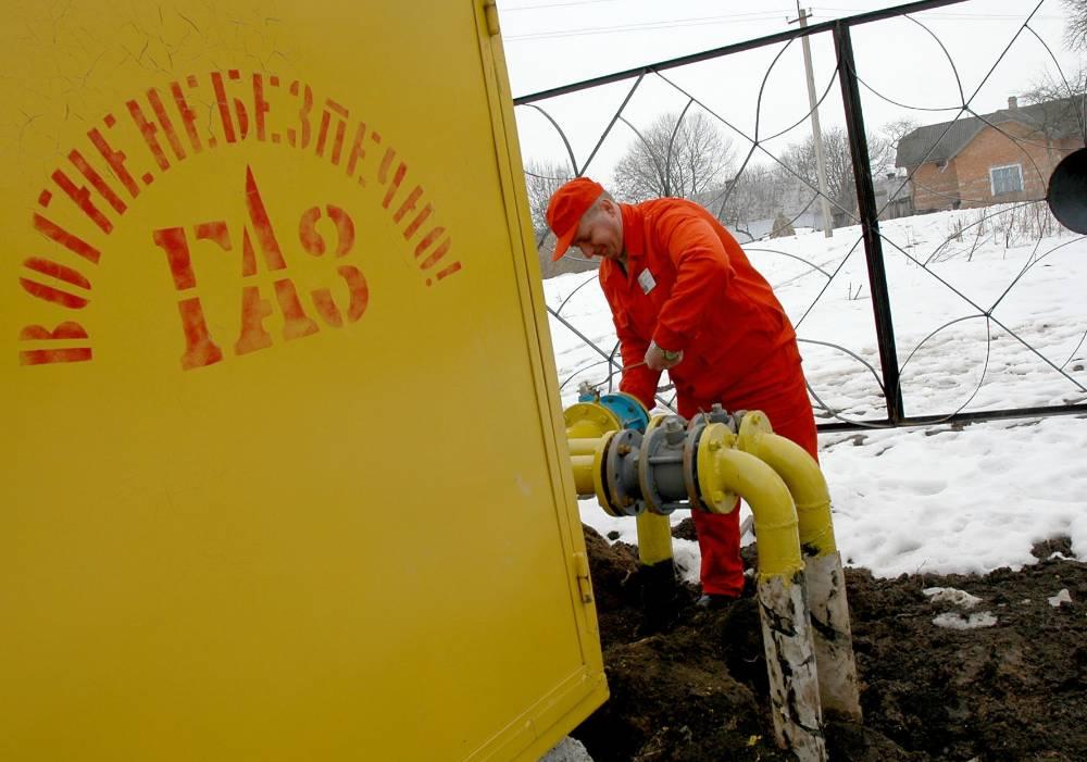 Транзит российского газа через Украину упал до минимума со времён СССР