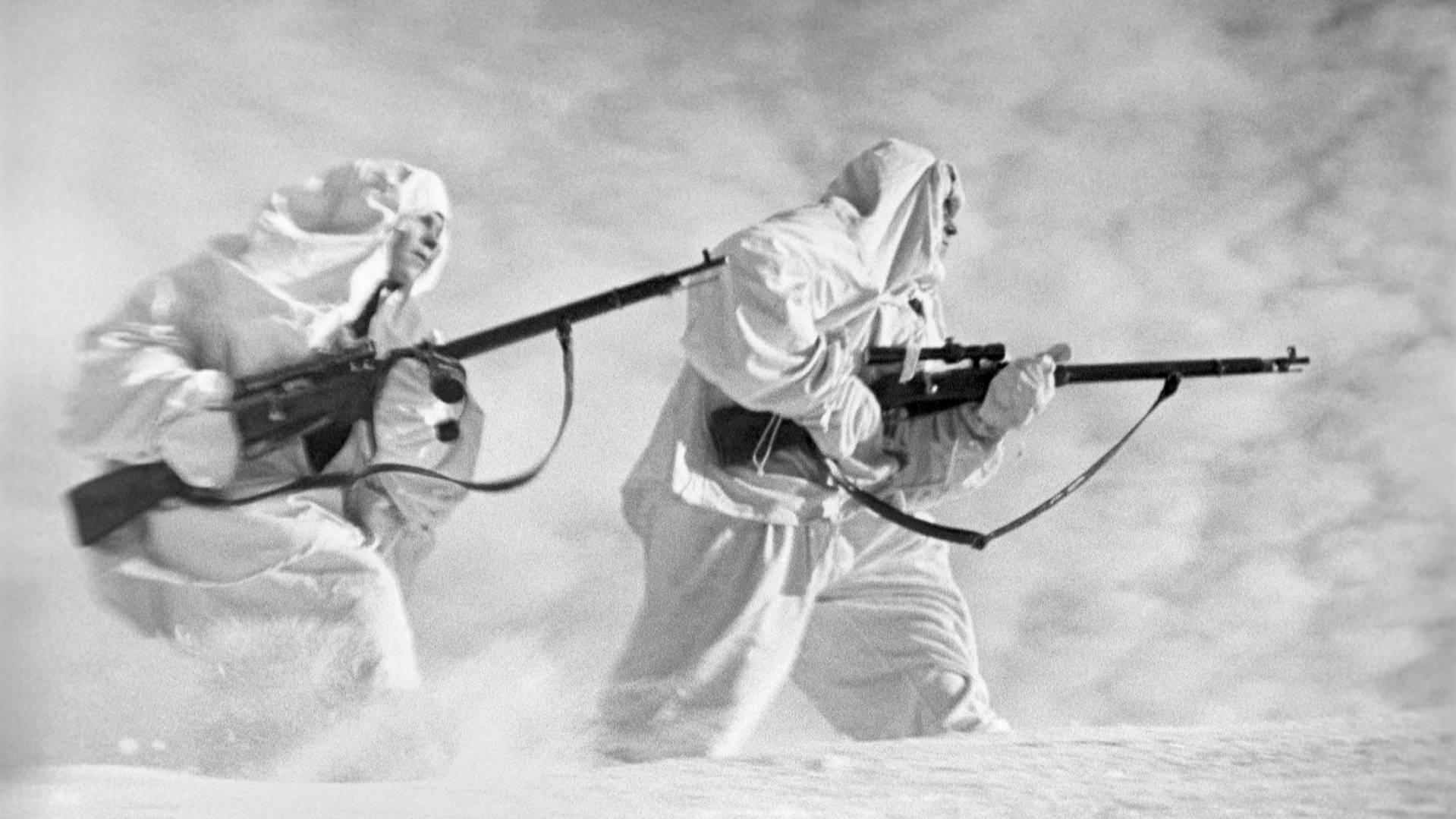 'Белые призраки': как воевал секретный спецназ НКВД 'Ходоки'