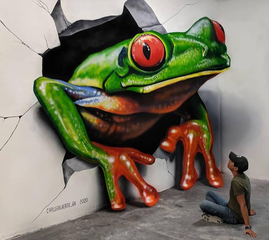 10 граффити уличного художника, глядя на которые кажется, что они сейчас выпрыгнут в реальный мир