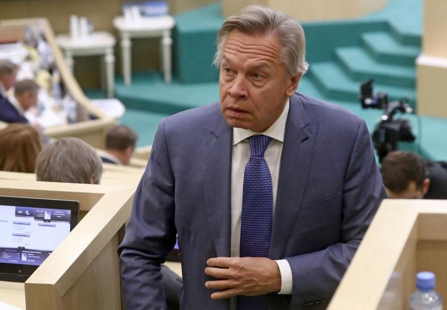Пушков назвал грубой ошибкой заявление Зеленского о вступлении Украины в НАТО